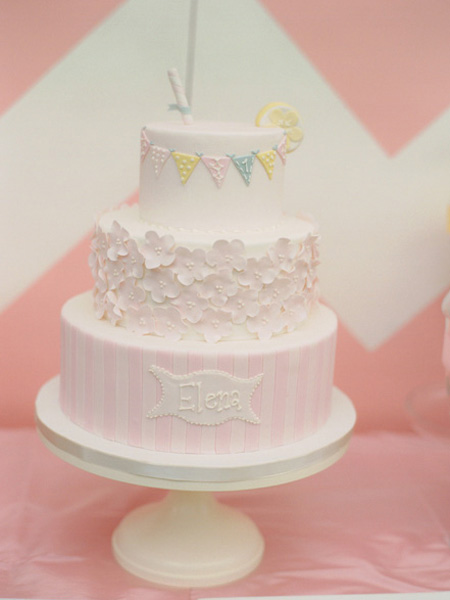 Pink Lemonade Inspired Birthday Party In Maryland A