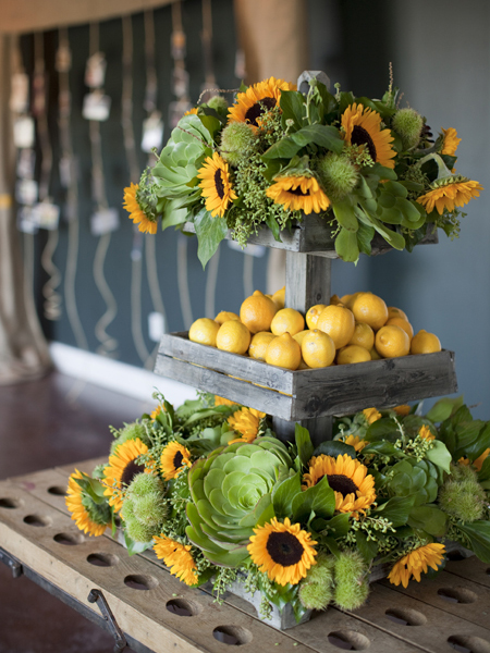 ADominickEvents_SunflowerArrangement