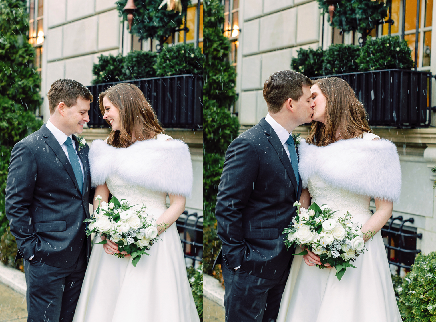 Winter Wedding Washington DC, Real Wedding, Winter Wedding Bouquet Inspiration,