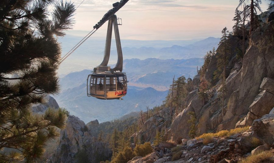 Breathtaking views from Palm Springs Aerial Tramway