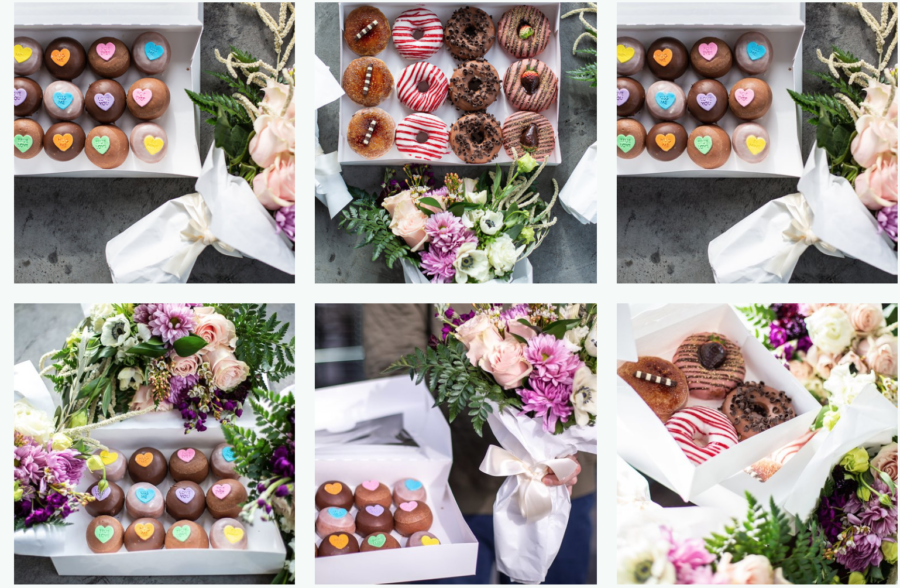 A. Dominick Events favorite Donut place in Washington DC. Flowers and Donuts, Valentine's Day
