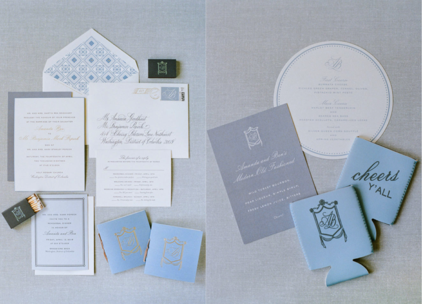 Cheree Berry Paper Wedding Invitations, DC Wedding A. Dominick Events
