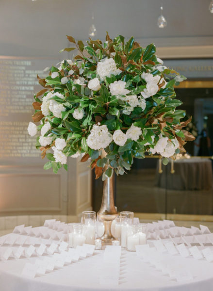Magnolia Leaves DC Wedding A. Dominick Events