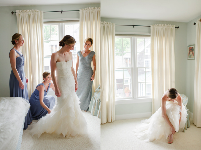 Bride Getting Ready - Destination Wedding - A. Dominick Events