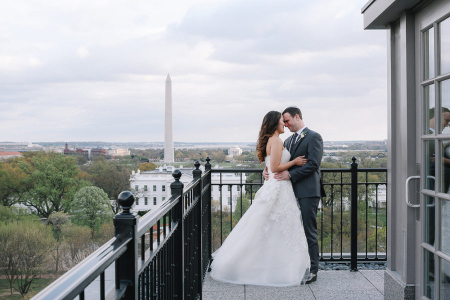 Hay- Adams Wedding. Top of the Hay. Luxury Wedding Planner. A. Dominick Events