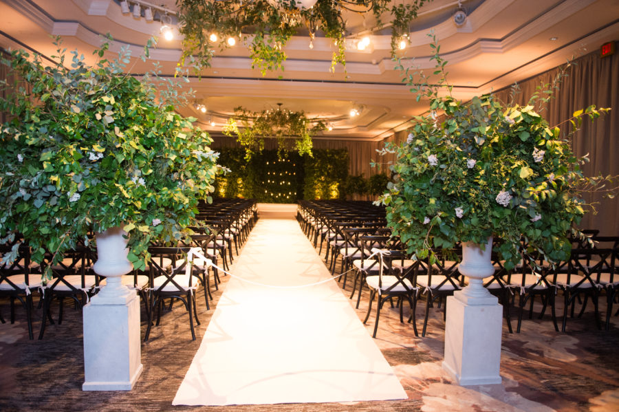 Luxury Washington DC Wedding Ritz-Carlton Ballroom Wedding. A. Dominick Events. Bonnie Sen Photography. Abby Jiu Photography