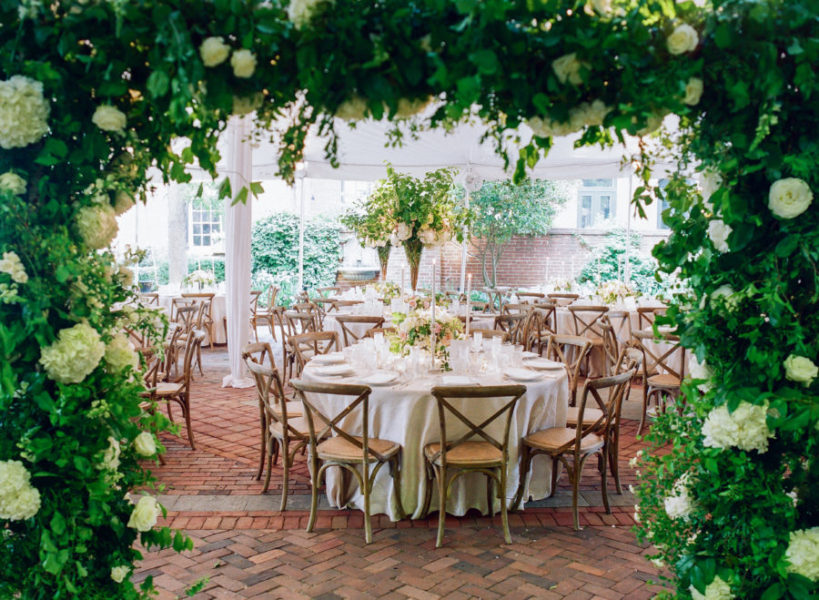 Decatur House Spring Wedding, Washington DC Wedding, A. Dominick Events. Jodi and Kurt Photography. Sweet Root Village